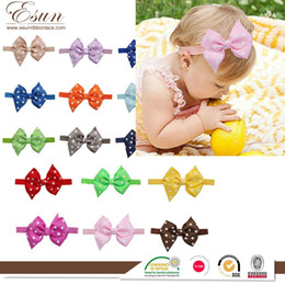 Europe and the bow hair baby children hair hair band source of foreign trade wholesale custom Taobao gifts