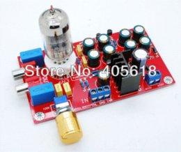 Wholesale 6N3 Tube Buffer Audio Preamplifier Pre AMP Board HIFI Amplifier DIY AMP Board Amplifier Cheap Amplifier