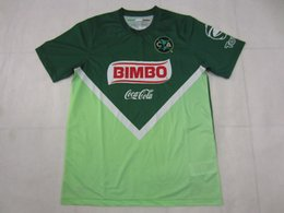 Wholesale 14 Club America Limited Edition Green Soccer Jersey Best Quality D BENEDETTO R SAMBUEZA P AGUILAR MICKY O MARTINEZ Soccer Jersey