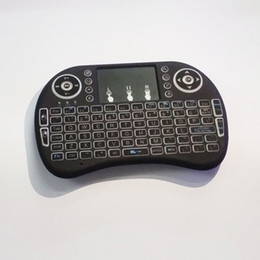 Wholesale Rii i8 Remote Mouse Keyboard Combo Wireless GHz Touchpad Keypad For U1 KODI S905 MXQ PRO M8S WIFI Bluetooth Android OTT TV BOX DHL