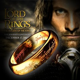 The Lord of the Rings ring ring men single tail ring finger ring men titanium steel fashion domineering personality