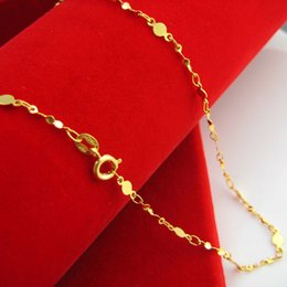 Our jewelry necklace 24K gold plated gold and gold imitation jewelry jewelry chain bride clavicle chain