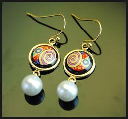 Femmes top perle à vendre-Boucles d'oreilles boucles d'oreilles boucles d'oreilles en or 18K Boucles d'oreilles boucles d'oreilles boucles d'oreilles boucles d'oreilles boucles d'oreilles
