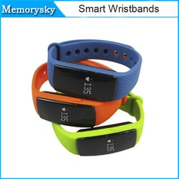 Wholesale new Smart band ZS107 Fitbit Flex Multifunction smartwatch bracelet Heart Rate Monitor Sport fitness Tracker five colors