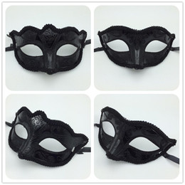 Sexy Black Mask Half Face Masquerade Party Masks Fancy Dress Costume Hallonween mask Carnival Mardi Gras mask opera prom mask