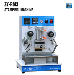 ZY-RM3 Automatic hot foil Stamping Machine,leather LOGO Creasing machine,LOGO stamper,Hot words machine