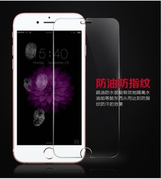 For iPhone 6 6s Tempered Glass Screen Protector,9H Explosion proof Glossy Anti Scratch 2.5D Tempered Glass .