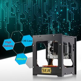 Wholesale NEJE DK KZ mW High Speed Mini USB Laser Engraver Carver Automatic DIY Print Engraving Carving Machine Off line Operation E1436