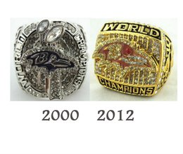 Wholesale Championship Rings Ravens k Gold Ring Silver Men s luxury fans collectibles