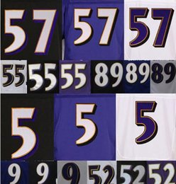 Wholesale 2016 Ravens Joe Flacco Terrell Suggs Steve Smith Justin Tucker CJ Mosley Name Numbers Stitched Sewed Mens Jerseys