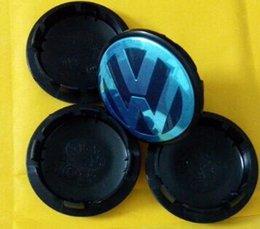 Wholesale 4pcs mm VW Volkswagen Wheel Hub center Cap Rim cover Emblem for Golf Jetta MK5 MK6 passat Santana Beetle J0601171