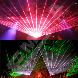 5W SD+Analog Modulation RGB laser light, full color laser light,lighting equipments with flight case