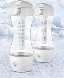 Wholesale Hydrogen water generator Gyms Silky rechargeable portable Water Bottles HWP S