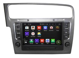 Wholesale 8 Inch Android Quad Core New Update In Car Gps Dvd Player for VW Golf