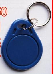 50PCS EM4100 125K RFID Access ID Card Key Chain Keyfob Tag Read Only
