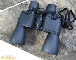 Wholesale 10X50 binoculars high powered optical coatings protect Luogao Qing Hunting optics