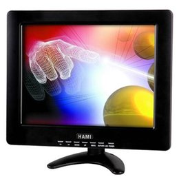 Wholesale H121T inch touch screen TFT LCD Monitor Industrial LCD Monitor with VGA AV Input Information query terminal Pixel