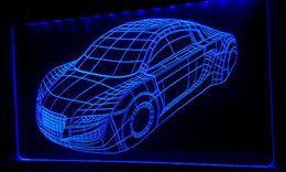 3D-a013-b Car Model 3D LED Light Signs