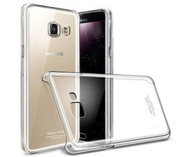 Wholesale 10 IMAK Brand Clear Crystal Case For Samsung A9 PRO A9100 Case Slim Phone Cover For Samsung Galaxy A9 PRO Case