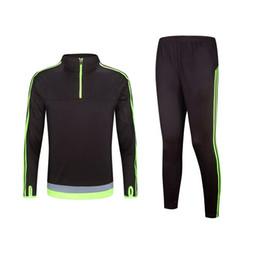 Wholesale Best Quality Soccer Tracksuit Long sleeve Training suits Survetement Football uniforms chandal