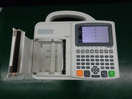 Wholesale Cheap Cost China Portable Lead Digital ECG EKG Machine With Channels Eectrocardiograph With Printer