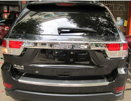 Wholesale ABS CHROME rear Tail light lamp Taillight Cover box trim For JEEP Grand Cherokee