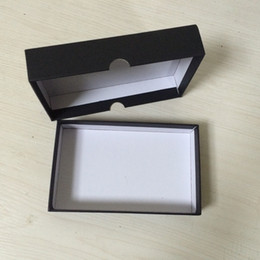 10 PCS Black Paper Packaging with gift box Paper Gift Packaging Box Size 160x100x33MM 6.3 x 3.94 x 1.3 inch Rectangular gift box