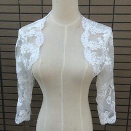 Gorgeous Lace Applique wedding bolero wedding Wraps jacket bridal bolero wedding accessories bolero de la boda
