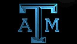 Wholesale LS231 Texas A M Light Sign jpg