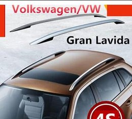 Wholesale High Quality Aluminum Car Roof Rack Luggage rack Roof Racks Modification Accessories For Volkswagen VW Gran Lavida shipping