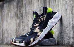 Wholesale Men Kendra Thomas Huarache Custom CAMO sneaker Huaraches running sports shoes