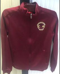 Wholesale 2016 design Mexico Club America football training clothes jacket spring fall fashion slim long sleeved sports jacket men s