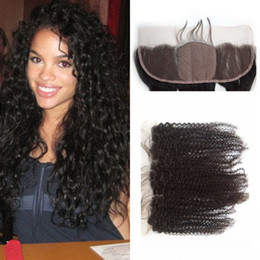 Indian Kinky Curly Silk Base Lace Frontal Closure 13x4 Ear to Ear Full Lace Frontal Silk Top Closure LaurieJ Hair