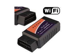 Wholesale Wifi ELM ELM327 OBD OBD2 OBDII Protocols Auto Car Diagnostic Interface Scanner Tool