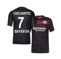 Wholesale soccer jersey BAYER LEVERKUSEN CHICHARITO camisetas futbol camisa de futebol maillot de foot survetement football kit uniform shirt