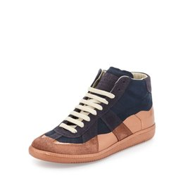Wholesale Shop for maison martin margiela mens latest popular and comfortable brand mmm lace up casual shoes