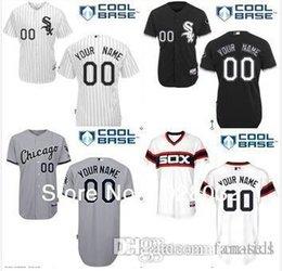 2016 Nouveau Custom Chicago White Sox Baseball Jersey personnalisé personnalisé coutures chandails taille des hommes-4xl femmes jeunes enfants à partir de nouvelle femme jersey fabricateur