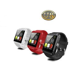 Wholesale Bluetooth Smartwatch U8 U Watch Smart Watch Wrist Watches for iPhone IOS System Samsung S4 S5 Note Note Android Phone