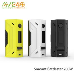 Wholesale New Arrival Smoant Battlestar W Compact in Batteries Battlestar W TC Mod And Mobula mm RTA Original