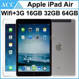 Wholesale Refurbished Original Apple iPad Air iPad5 st Generation WIFI G Cellular Unlocked GB GB GB inch Retina Display IOS A7 Free DHL