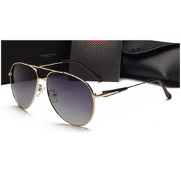 Wholesale 2016 Luxury Polarizing Man sunglasses Fashion Eyewear Classic Retro Unisex Driving Sunglasses Men Brand desinger Glasses With Original Box