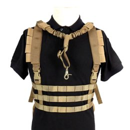 Wholesale Tactical Molle Vest Ammo Chest Rig Removable Gun Sling Hunting Airsoft Paintball Gear