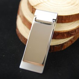 30pc Dollar Design Slim Money Clip Stainless Steel Cash Bills Credit Card HolderFree Shipping wholesale retail Free shipping 1686
