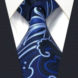 Y21 Navy Floral Pattern Silk Handmade Jacquard Woven Fashion Classic Men's Accessories Ties Necktie