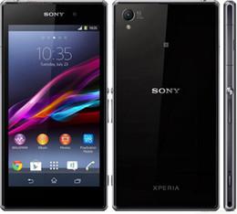 Wholesale Original Refurbished Unlocked SONY Xperia Z1 MobilePhone MP Camer MSM8274 Quad Core GB GB G LTE mAh GPS WIFI Smart phone