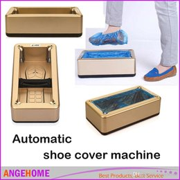 Wholesale hot selling Automatic ABS shoe cover machine Household overshoes machine Special Price complimentary Shoes Cover machine