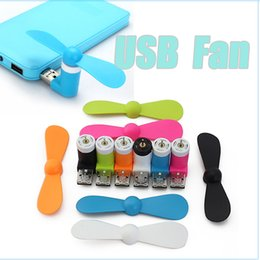 Wholesale 2016 Portable Mini Mobile Phone Micro USB Fan Hand Cooling Fan for Power Bank Android OTG Smartphone Laptop Notebook for iphone for Samsung