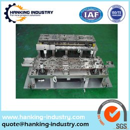 Wholesale custom industiral components metal die aluminum stamping parts with low price