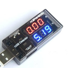Dual display convenience USB Charger Mobile Power Current Voltage Charging Detector battery Tester Volt Meter Ammeter CB 1piece