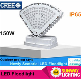 Wholesale 2016 CREE Sectorial LED flood lights IP65 waterproof W LM super bright outdoor indoor project design Meanwell driver